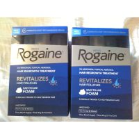 Rogaine Men's Foam Hair Regrowth Treatment Unscented Revitalizes Follicle