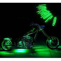 Million Color Motorcycle LED Strip Light Kits