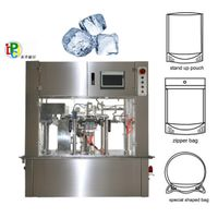 Ice Cube Meat Ball Premade Pouch Packing Machine
