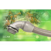factory automation 4.0 automation wirig Delikon Heavy Series Over Braided Flexible Conduit,Fittings