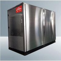 189kw 1200kg scroll type compressor earth water to water horizontal heater pump thumbnail image