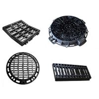Ductile iron manhole cover tree grate/grating/grill/grid