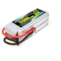 iGOPOWER LiPo Packs 22.2V 6S 5300mAh 35C