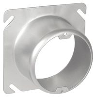 "4"" Square to Round 2"" Raised Device Ring (SCV-20435)"