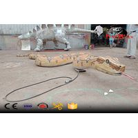 huge real like animatronic snake boa model