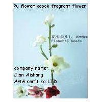 PU Flower kapok     Real touch feelings