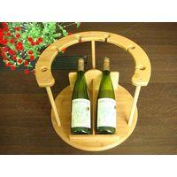 Bamboo Wine Rack From China