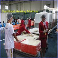 20KW Industrial microwave heating oven, ready to eat meal heating machine
