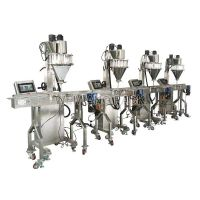 Automatic/semi-automatic powder dosing filling sealing capping line