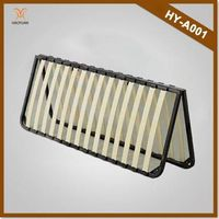 Haoyuan Furnitur Flodable Slatted Bed Base
