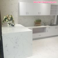 2017 new design inspiration carrera quartz stone kitchen countertops