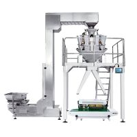 Economic Semi Auto Weighing and Packaging System with Two Outlet Packing Food