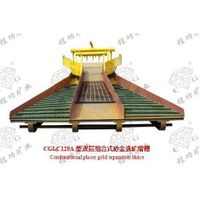placer gold separation sluice equipment  for concentrating gold ore