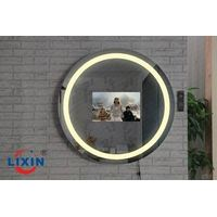 Waterproof Bathroom Kitchen LED TV Mirror With HDMZ