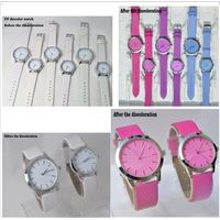 Temperature sensitive photosensitive watch, UV color change watch, ultraviolet photosensitive watch