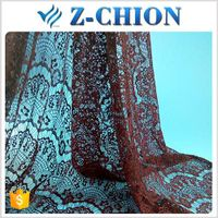 2016 New design nylon textile embroidery designs french lace fabric