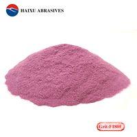 Pink aluminum oxide grain