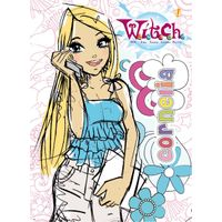 """Notebook A6/96 - lacquer hard cover """"WITCH"""""""