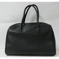 BLACK LARGE HANDBAG