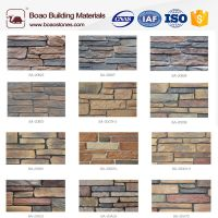 faux cultured ledge stone veneer wall cladding