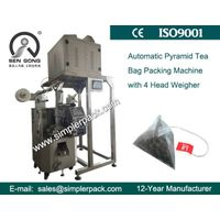 Jasmine Tea Bag Packing Machine by Ultrasonic Sealing