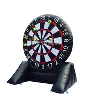 Inflatable foot dart inflatable soccer darts board
