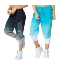 Get Faded Baggy Capris--Running for fitness yoga absorb sweat permeability black 7 points loos