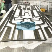 Metal Wall Cladding Stainless Steel Decorative Screen for Hotel Interior Decoration thumbnail image