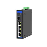 Sell POE Industrial Switch 1 SPF + 6 RJ45 Port