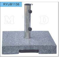 30kgs square grey grantie umbrella base