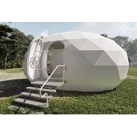 Custom Spherical House Geodesic Dome House Egg House for Star Camp Hotel/Garden/Park