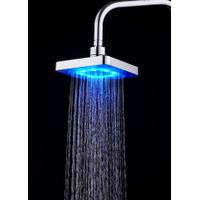 RC-S0601A High Pressure Rain Shower Head LED Color Change With Water Temperature thumbnail image
