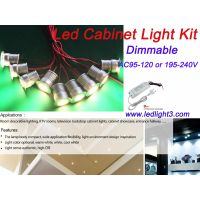 3W Mini Led Cabinet Light Driver Kit Dimmable Recessed Led downlight Spotlight decorative lighting