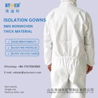 Disinfection properties isolation gown hooded Workshop medical safety protective