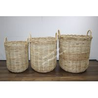 Eco-friendly rattan basket for home furniture, laundry basket-BH2861A-3NA