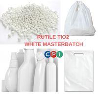 White masterbatch 30-70% rutile titanium dioxide for film blowing