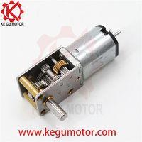 12mm worm 12V Price Micro Mini 24V 12 Volt gearmotor with Encoder 12Mm Dc Gearmotor thumbnail image