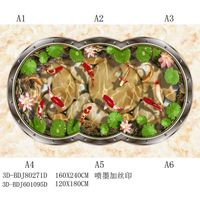 3D Decorative Polished Crystal Tiles
