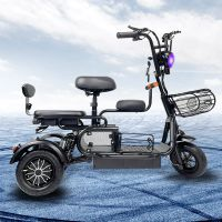 H-11-3 Light Domestic Electric Tricycles with Reversing Function Adult Electric Tricycle