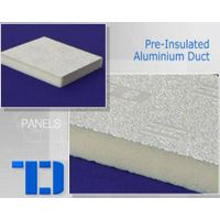 Pre-insulated air duct panel with PU foam thumbnail image
