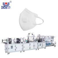 Fully Automatic 3D Folding Dustproof Mask Making Machine