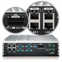 Quad Core Intel® Core™ i7/i5/i3 (Skylake-S) Fanless Embedded System