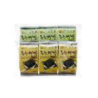 [(4gx3)x24]Gwangcheon BYUL MAT Seasoned Laver Small Size Traditional Laver 3 Bundle Packing thumbnail image