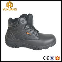 Hot sale leather upper army tactical delta desert boots