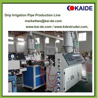 Inlaid cylinder drip irrigation pipe extrusion line thumbnail image
