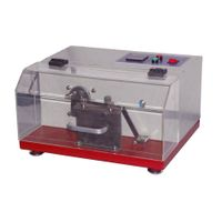 Stock Downproof Tester,BS EN 12132.1
