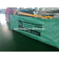 100% new PP dumpster skip bag for waste removal service