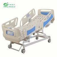 ISO& CE Approved five functions icu bed with Quality Assurance