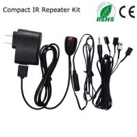 IR repeater/IR Extender with 1 Receiver & 4 Emitter