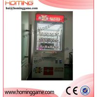 axe master prize vending game machine:hot and popular prize vending game machine(hui@hominggame.